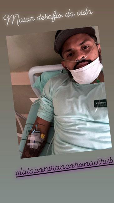 Jogador piauiense que atua na Chapecoense é internado com Coronavírus - Imagem 1