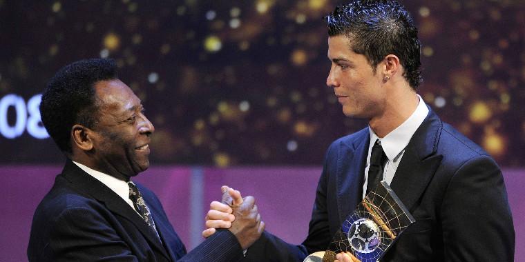 Pelé e Cristiano Ronaldo estão na batalha final