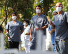 Brasil tem 733 mortes por covid-19 em 24 horas e ultrapassa 72 mil