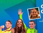 Sarah Menezes, Zanetti, Sandra Pires e Fabi estão na Live de campeões