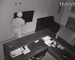Polícia tenta identificar acusado de invadir escritório de advocacia na zona Leste de Teresina