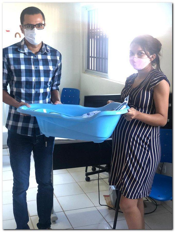 Secretaria de Trabalho a Ação Comunitária realiza entrega de Kits para gestantes  - Imagem 7