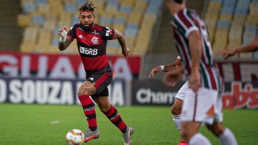 Gabigol está fora da final do Carioca-Foto: Alexandre Vidal/Flamengo