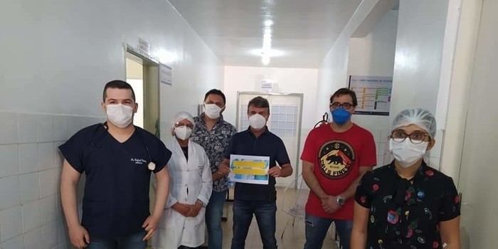 Prefeito João Luiz recebe alta médica Recuperado de Covid-19