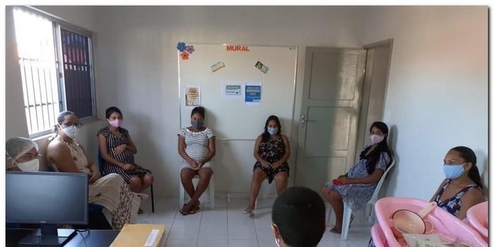 Secretaria de Trabalho a Ação Comunitária realiza entrega de Kits para gestantes