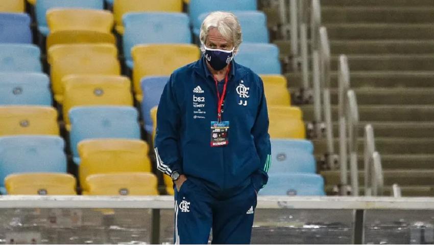 Jorge Jesus deu um novo fico no Flamengo-Foto: Buda Mendes/Getty Images