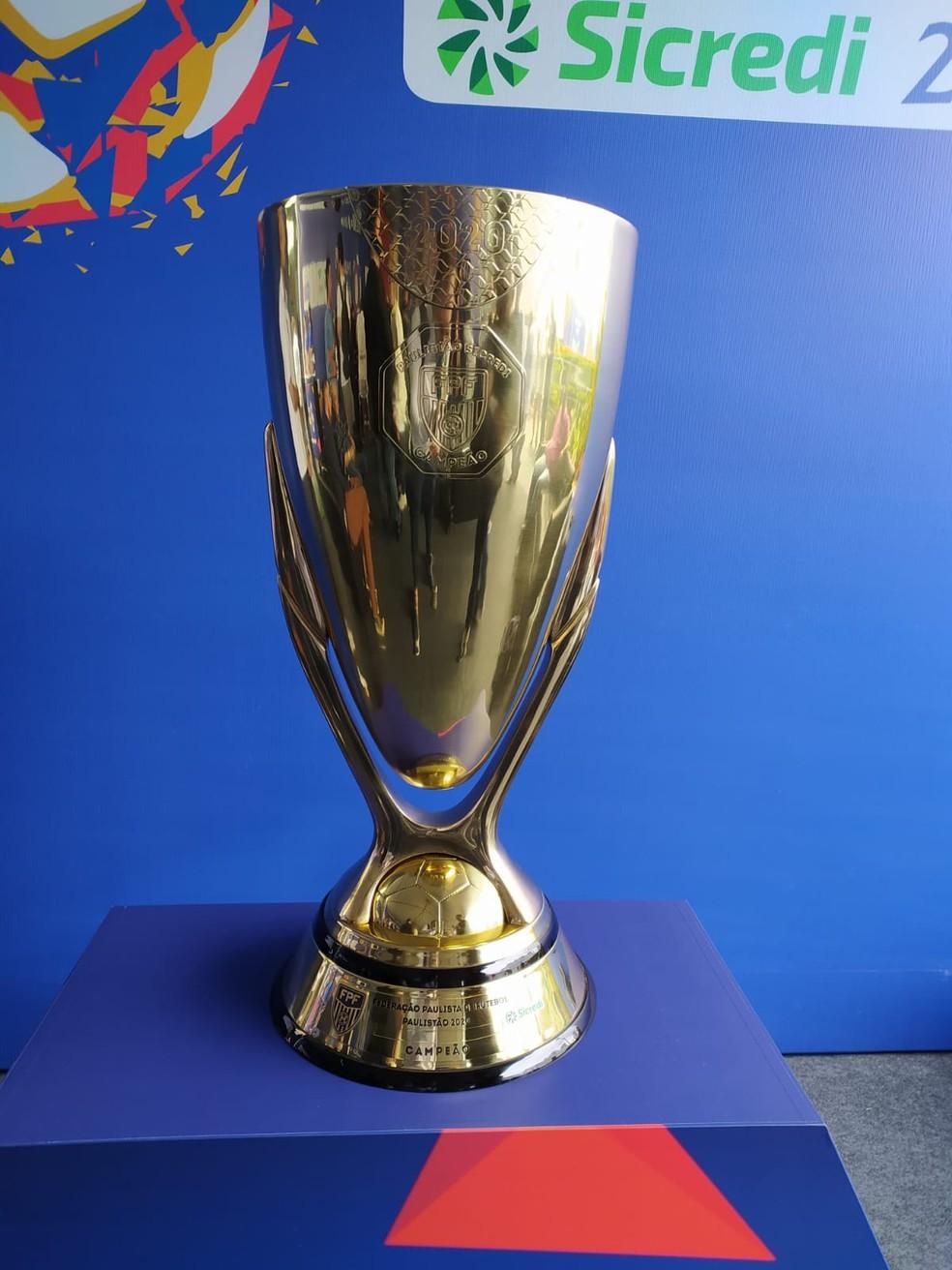 Taça do Paulistão 2020-Foto: Emilio Botta