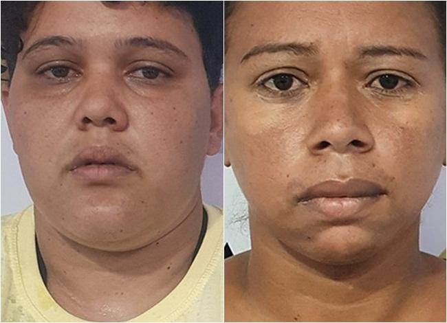 Talita Lana e Janaina Pereira foram presas acusadas de participação no crime
