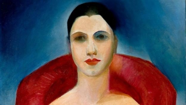 Autorretrato de Tarsila do Amaral; pintora traduziu, com seu trabalho, o contexto cultural de sua época e meio (Foto: Reprodução)