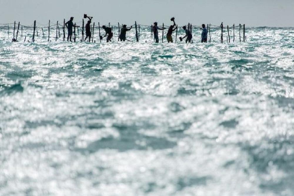 Pesca artesanal na praia de Bitupitá - Barroquinha/CE (Francisco das Chagas Machado Brandão - Chico Rasta)