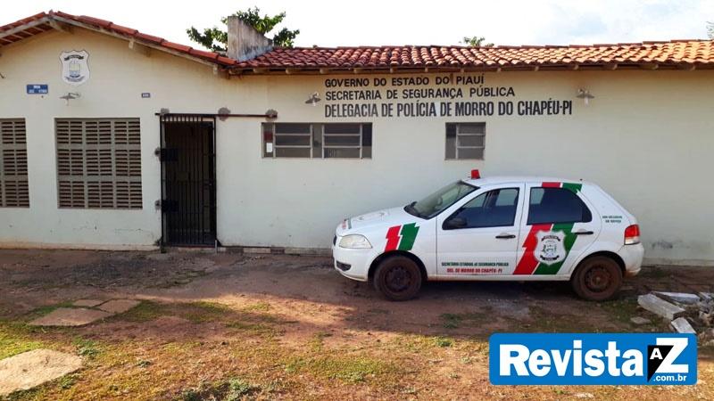 Delegacia de Polícia de Morro do VChapéu (Reprodução/ Revista AZ)