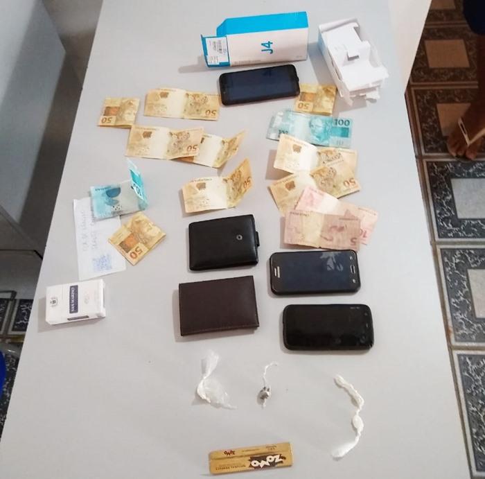 Dupla foi presa com quantidade significativa de drogas (Reprodução/ Portal Corrente)