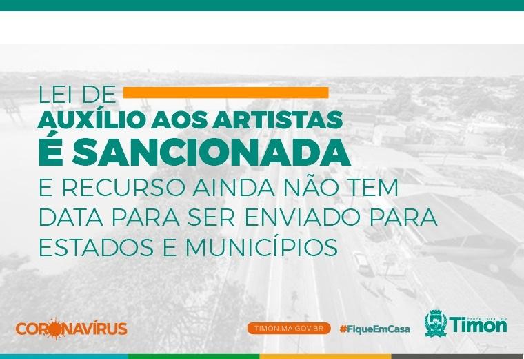 Lei que destina R$ 3 bilhões para auxilio dos artistas  é sancionada - Imagem 1