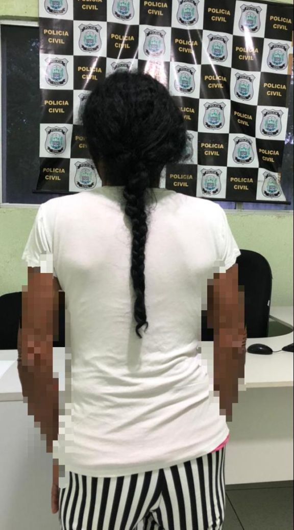 Idosa é presa por tráfico de drogas em Buriti dos Lopes (Divulgação)