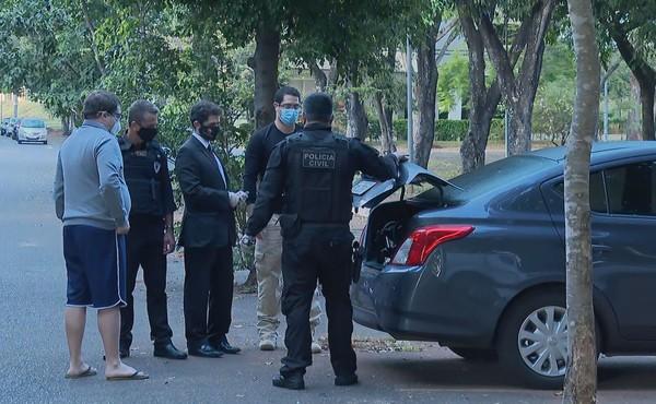Polícia faz buscas na Secretaria de Saúde do DF, nesta quinta (2 )