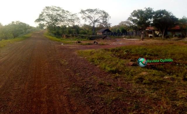Estrada onde iniciou a perseguição - Foto: Revista Opinião