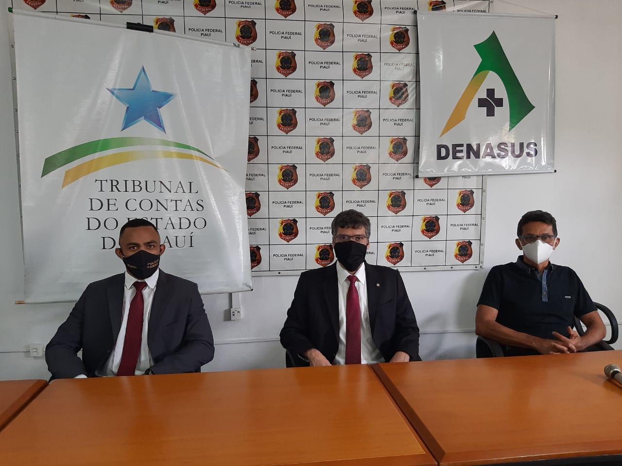 Delegados esclarecem investigação da Operação Reagente - Crédito: Divulgação-PF