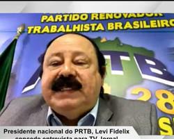 Levi Fidélix confirma apoio do PRTB à Dr. Pessoa em Teresina