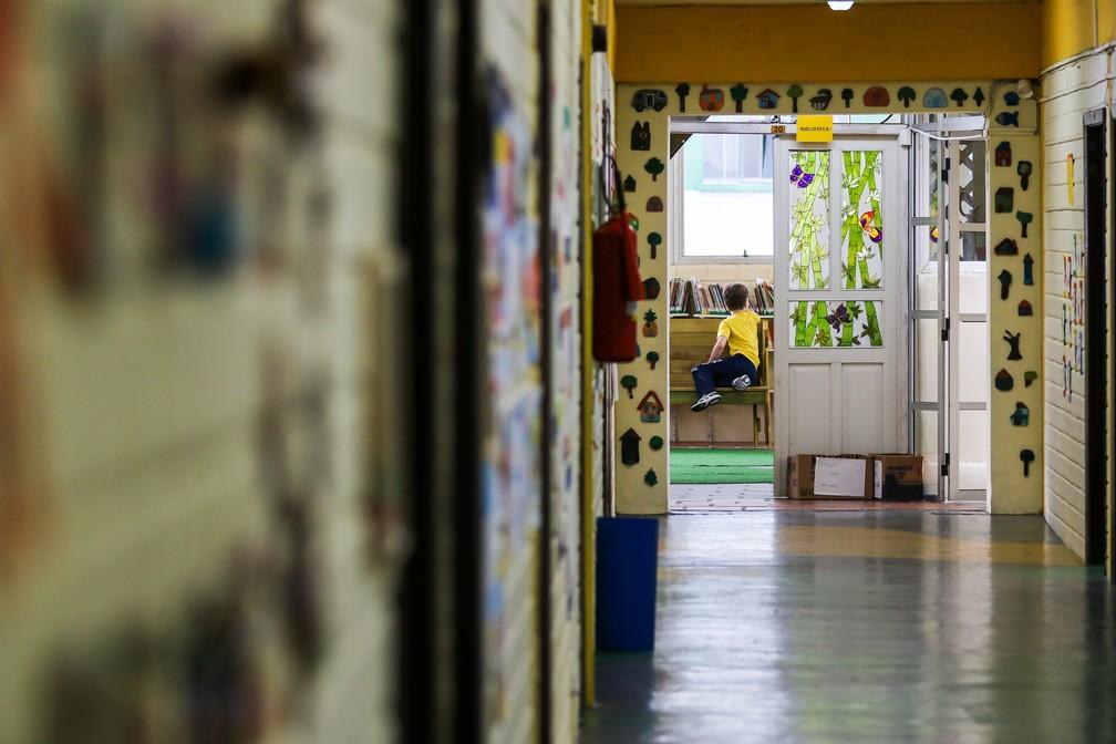 Imagem de arquivo mostra escola de Curitiba - Foto: Arquivo/Estadão Conteúdo