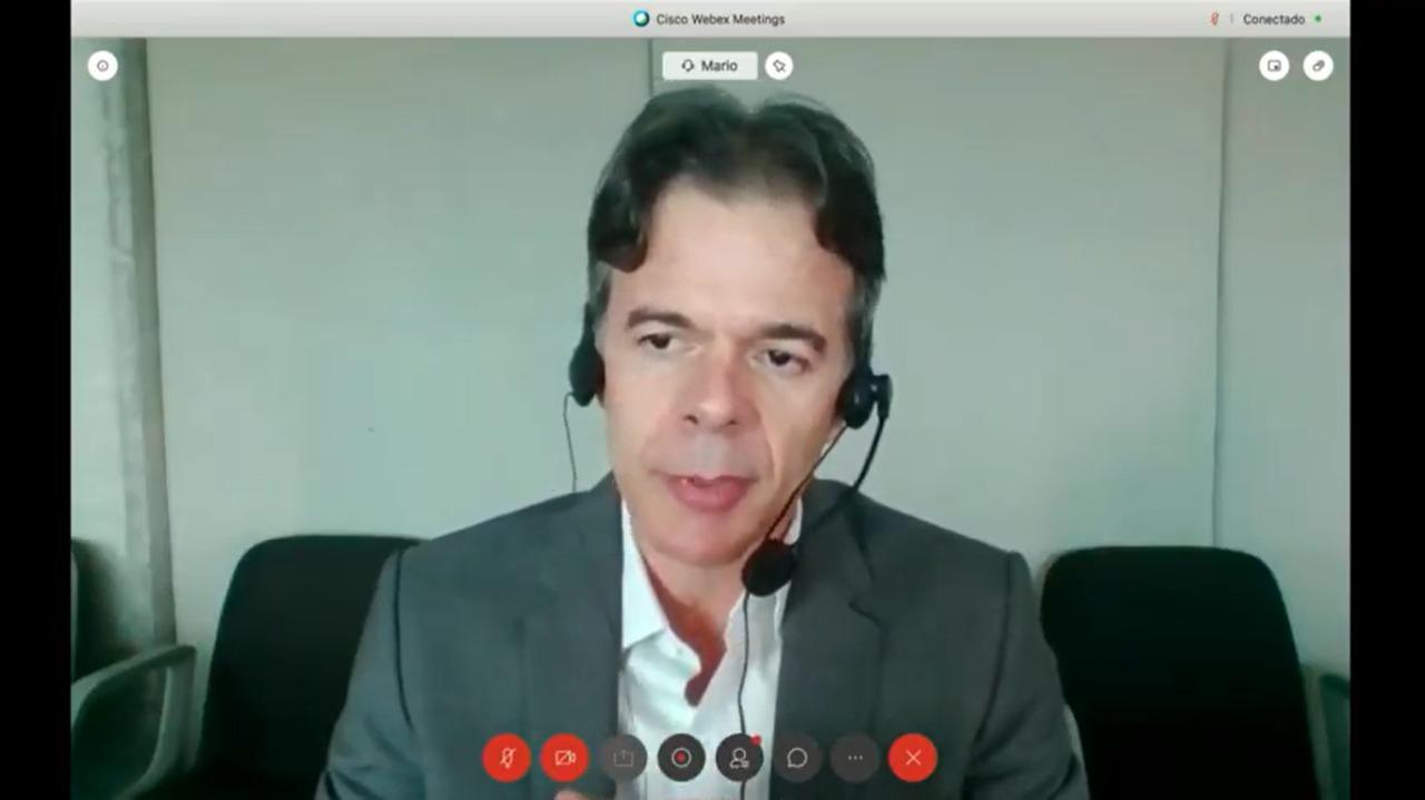 Mario Lacerda, Diretor do Sebrae (Reprodução/ Youtube)
