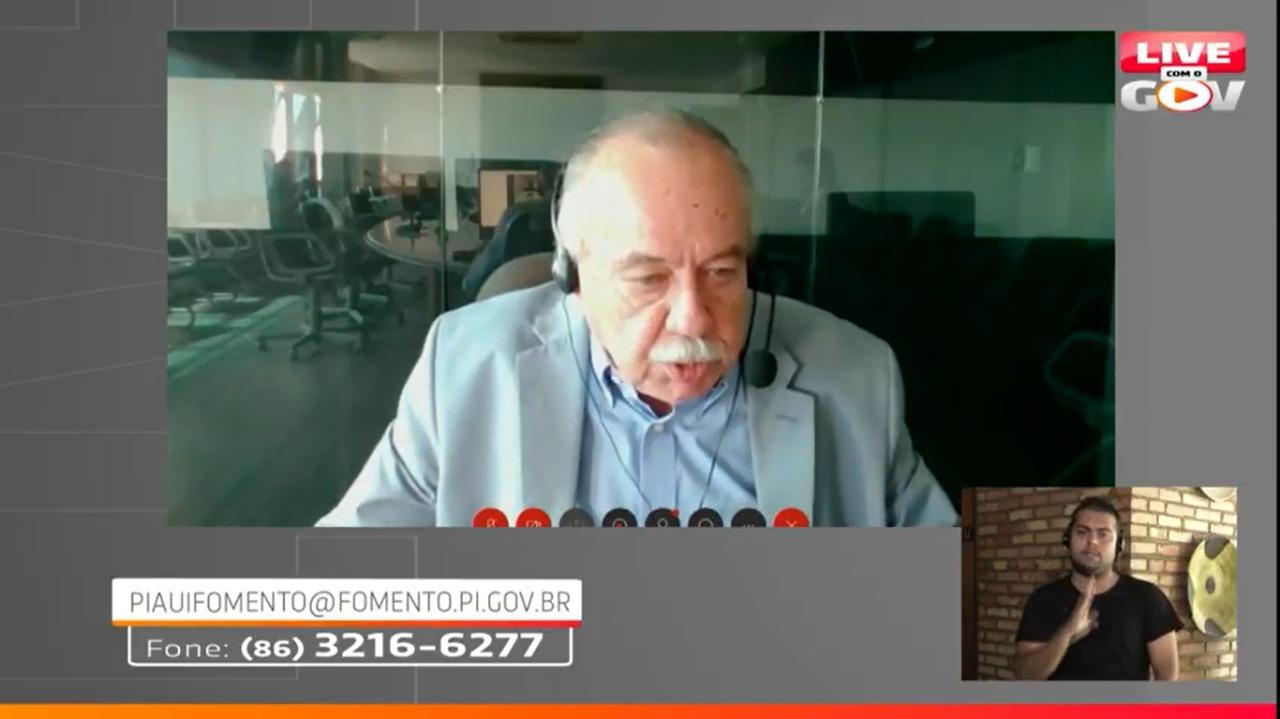 Freitas Neto, presidente do Sebrae Piauí (Reprodução/ Youtube)