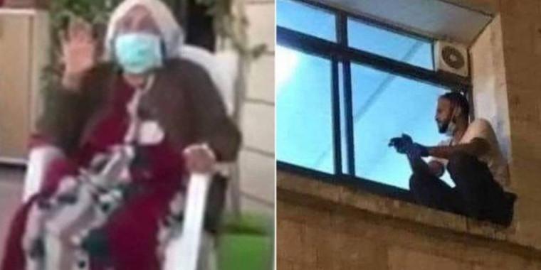 Homem escala hospital para se despedir da mãe, vítima de Covid-19