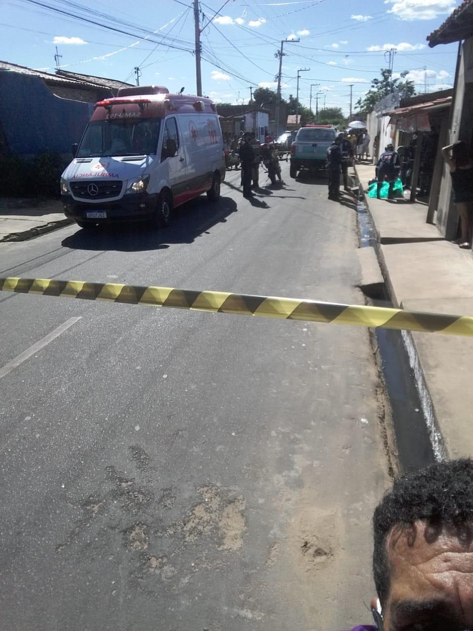 Policial Militar é morto a tiros durante assalto (Reprodução/ WhatsApp)