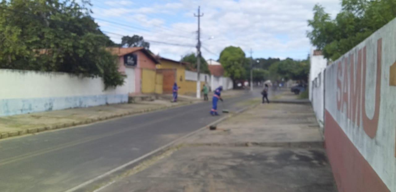 Prefeitura mantendo a limpeza dos logradouros públicos em dia - Imagem 1
