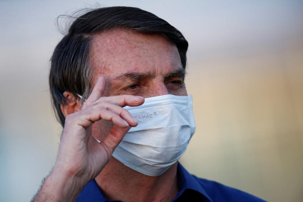 Presidente Jair Bolsonaro faz novo exame e contina com coronavírus - Foto: Adriano Machado