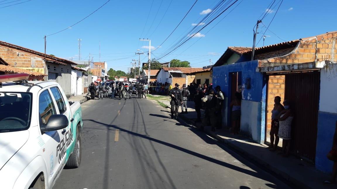 Policial Militar é morto a tiros durante assalto em Teresina (Reprodução)
