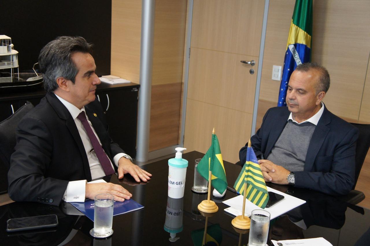 Água no Piauí: Ciro tem audiência com Ministro do governo Bolsonaro - Imagem 1