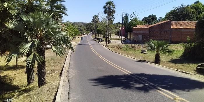 Prefeitura mantendo a limpeza dos logradouros públicos em dia