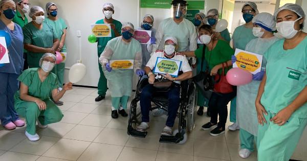 Médico curado da covid-19 recebe alta do Hospital Unimed Primavera – Meionorte.com