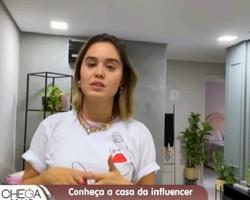 Conheça a casa da influencer e empresária Mikaella Britto
