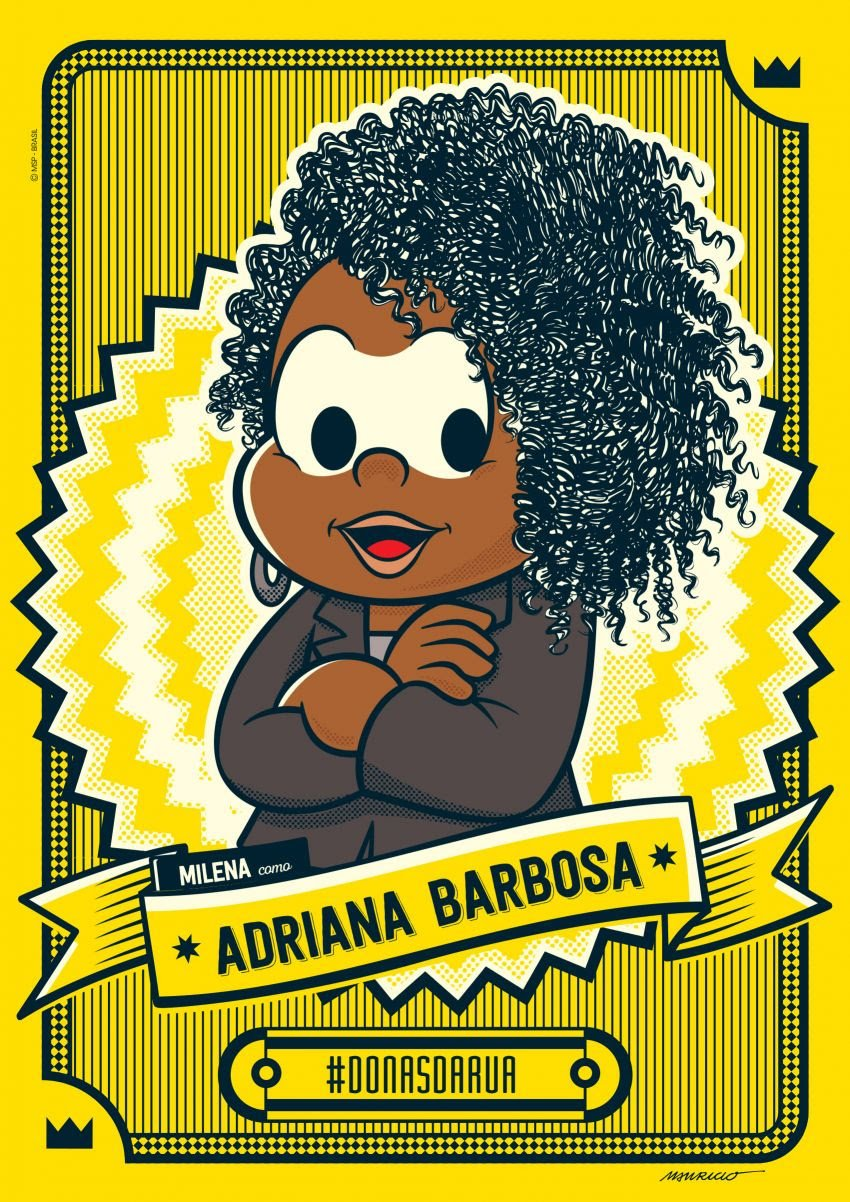 Adriana Barbosa é homenageada pela Turma da Mônica - Imagem 1