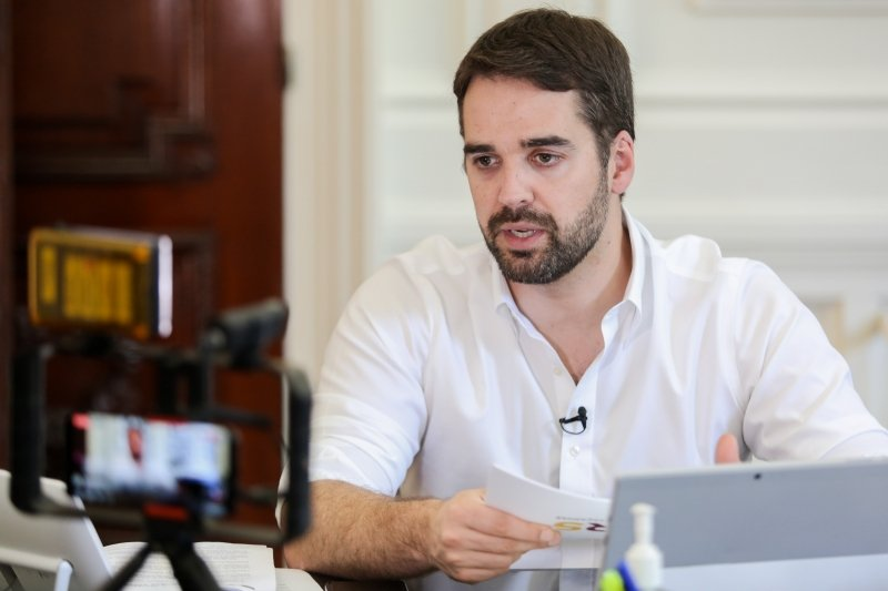 Governador Eduardo Leitte testa positivo para a covid-19