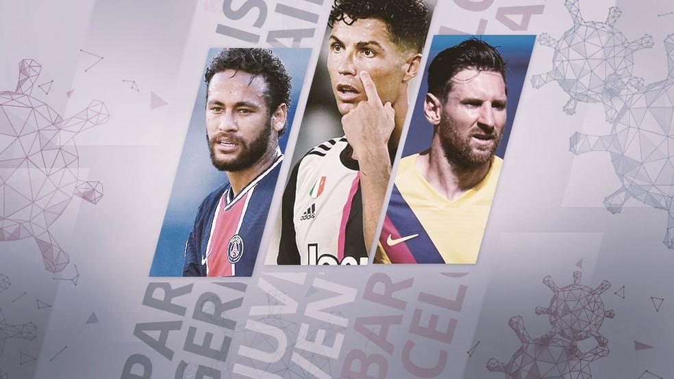 Carrossel protocolo da Champions League