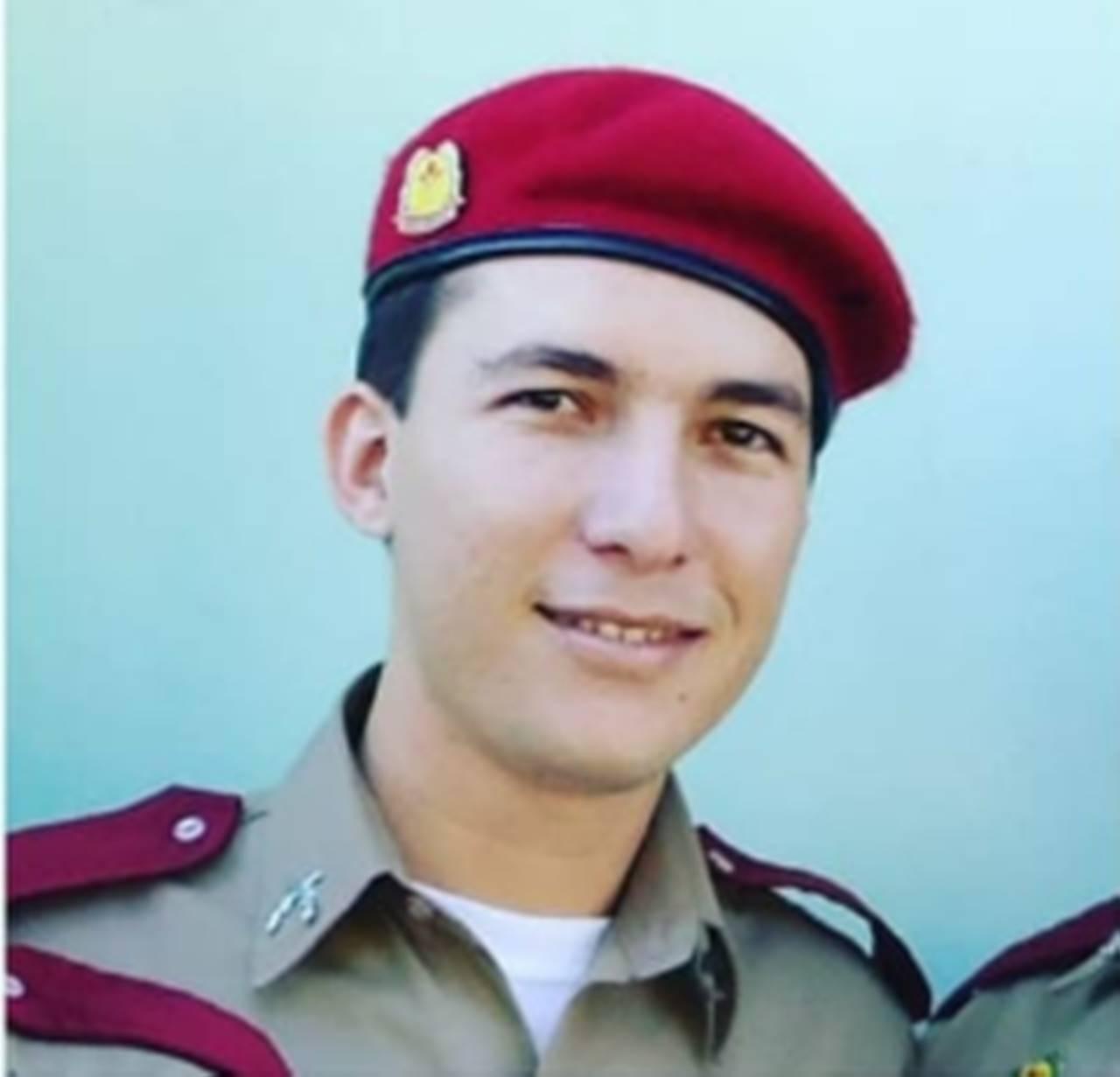 Soldado Lídio Mesquita, morto durante um latrocínio na zona Norte de Teresina