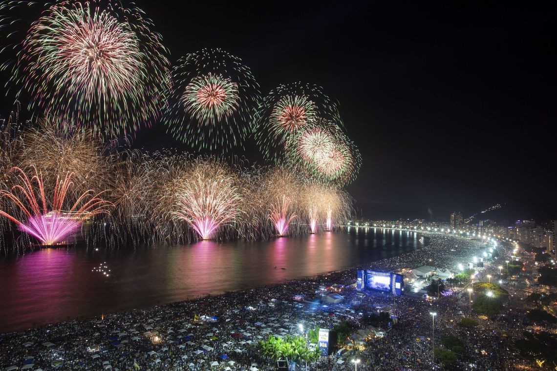 Réveillon de Copacabana / Crédito: Agência Brasil
