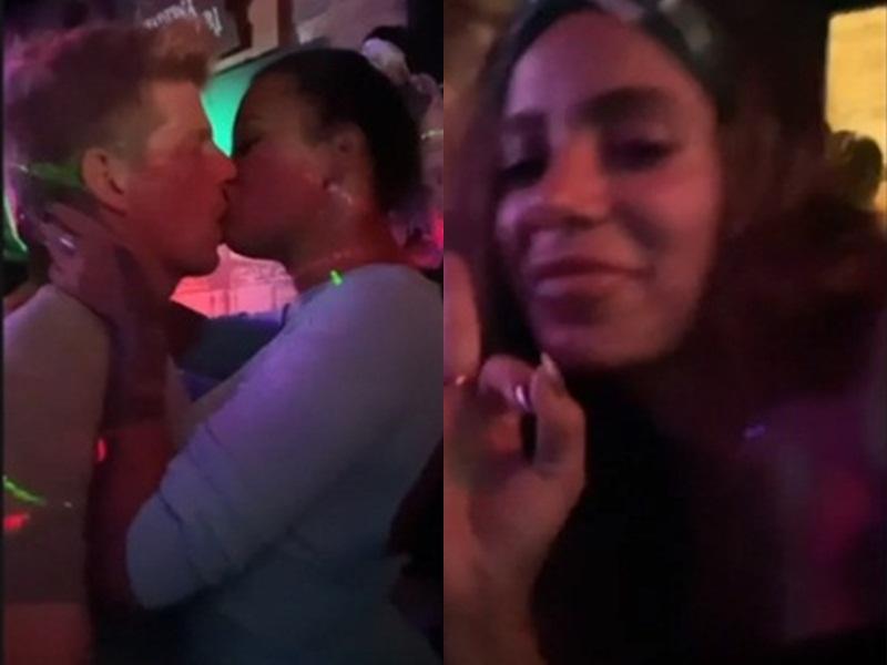 Anitta curte balada com Ariadna e mostra a ex-BBB aos beijos - Imagem 1