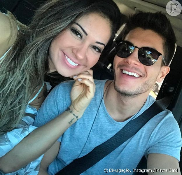 Mayra Cardi e Arthur Aguiar / Crédito: Instagram