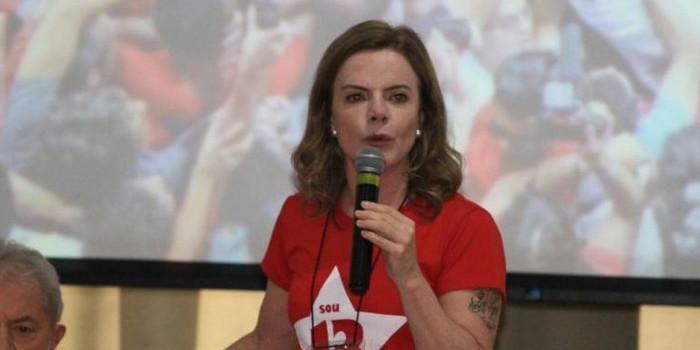 Gleisi Hoffman diz que operação no Piauí é abuso de autoridade