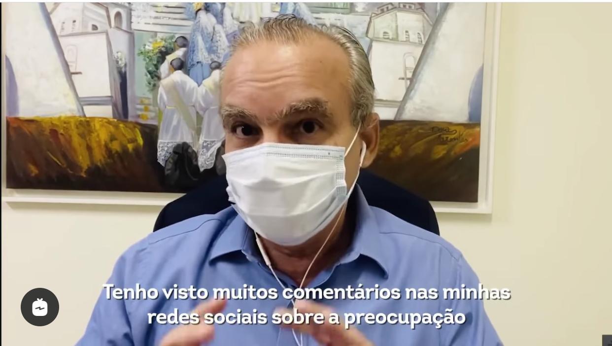Firmino Filho declarou que ainda não há data para retorno das aulas presenciais em Teresina - Foto: Reprodução/Instagram
