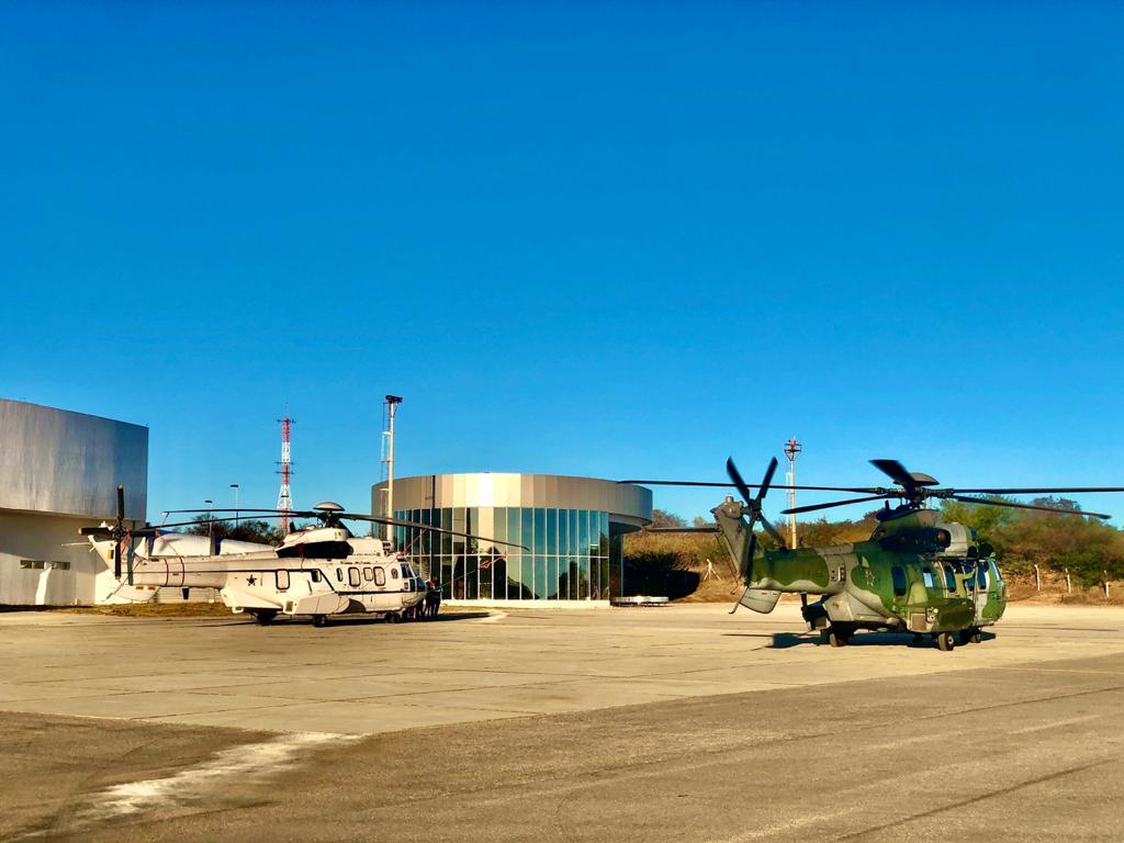Força Aérea desloca dois helicópteros para São Raimundo Nonato