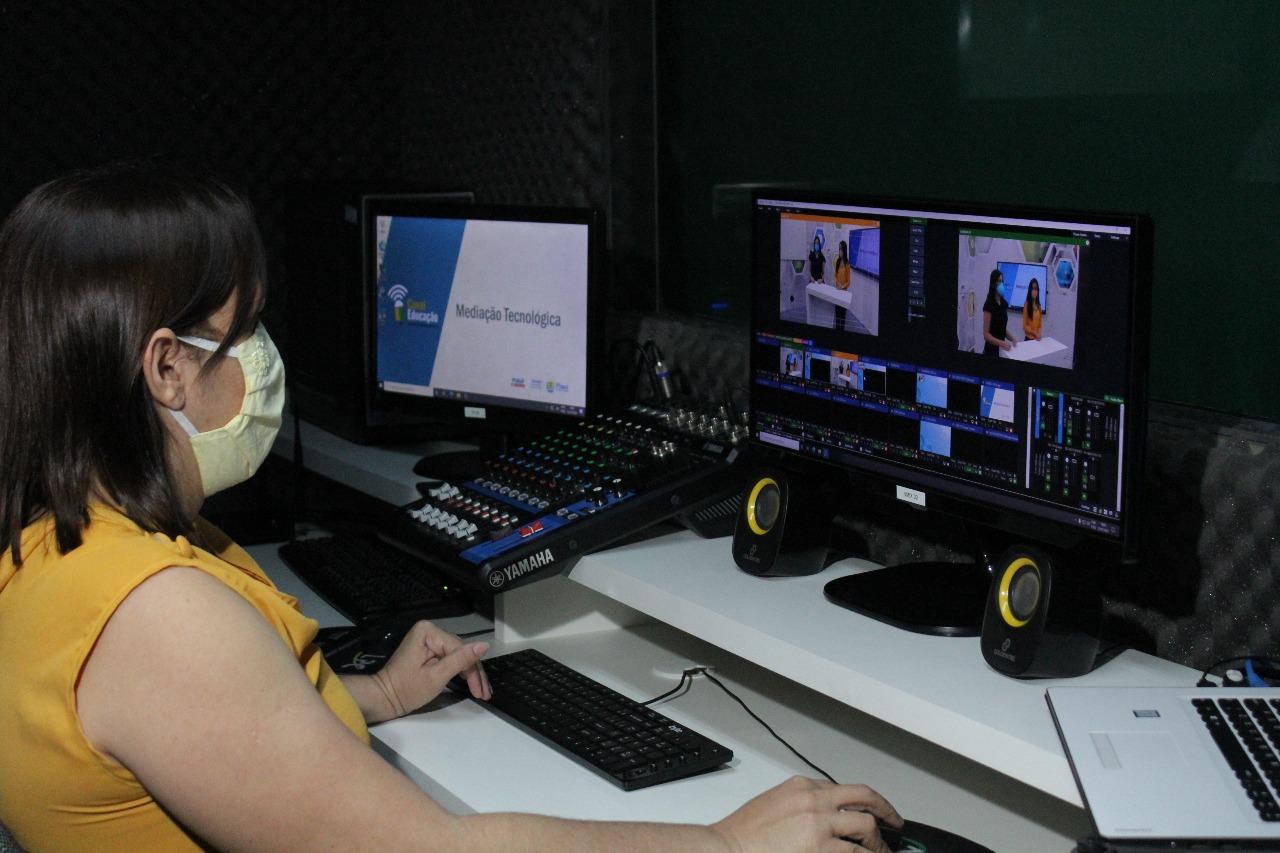 Ações são inseridas da programação de aulas remotas - Foto: Raíssa Morais