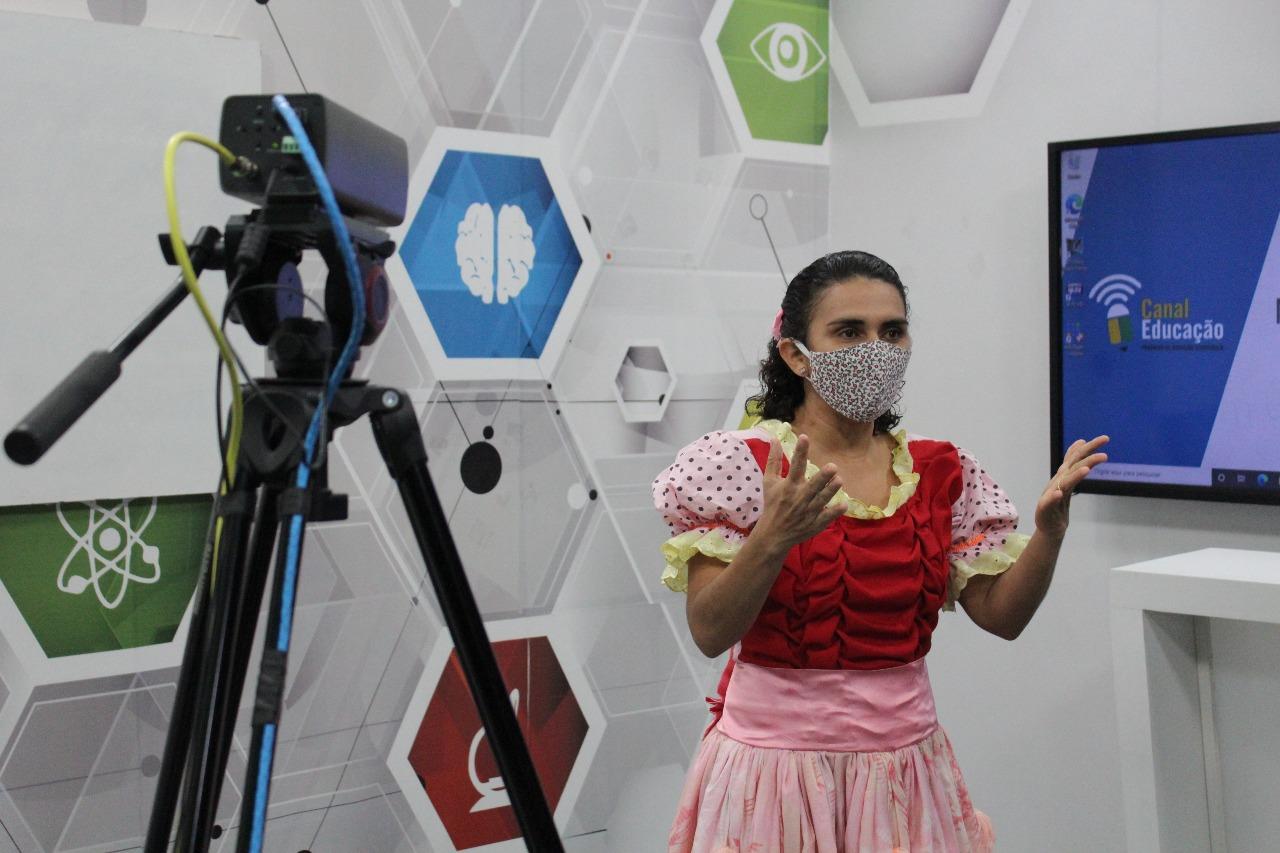 Projeto cuida do aspecto físico e psicólogico de alunos da rede estadual - Foto: Raíssa Morais/Jornal Meio Norte