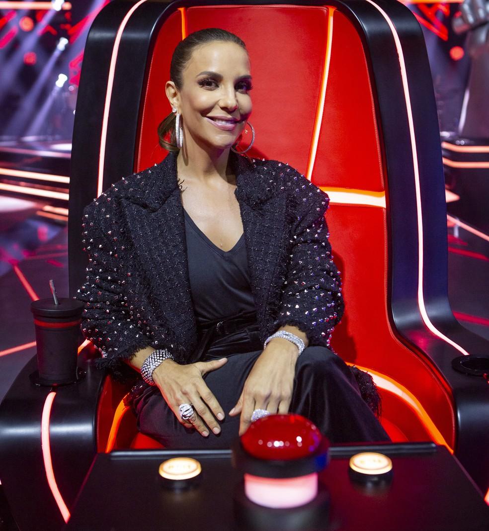 Ivete Sangalo deixa o The Voice Brasil (Foto: Globo/Isabella Pinheiro)