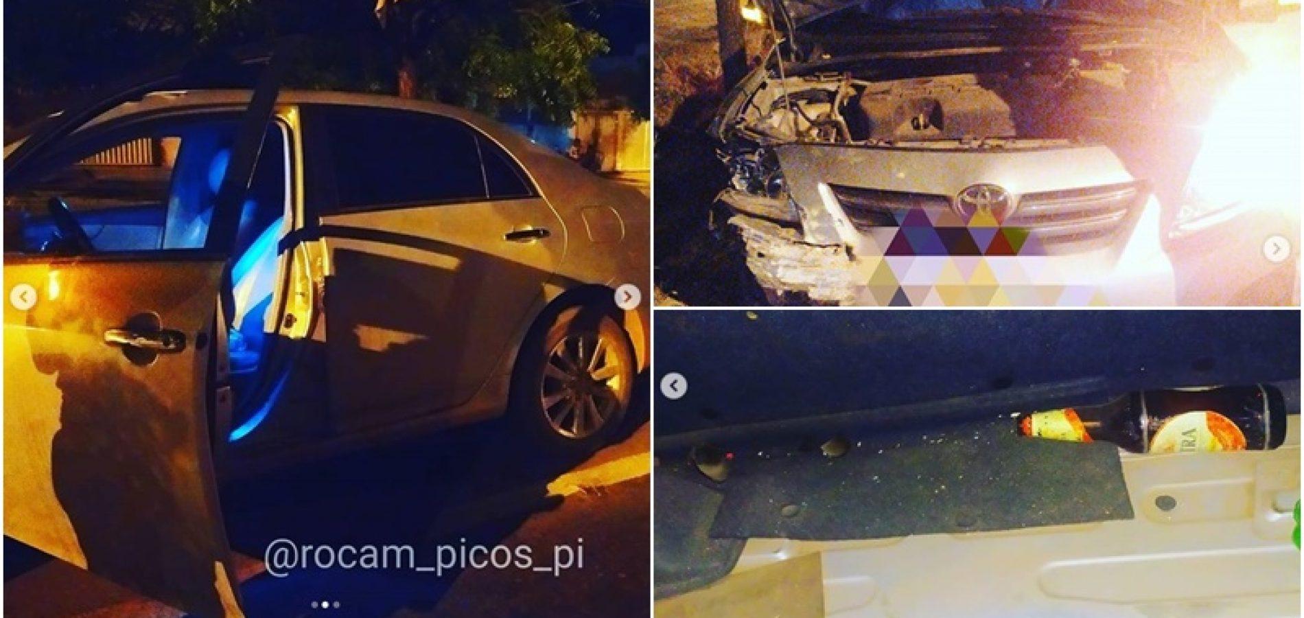 Carro do professor foi abordado pelos policiais militares