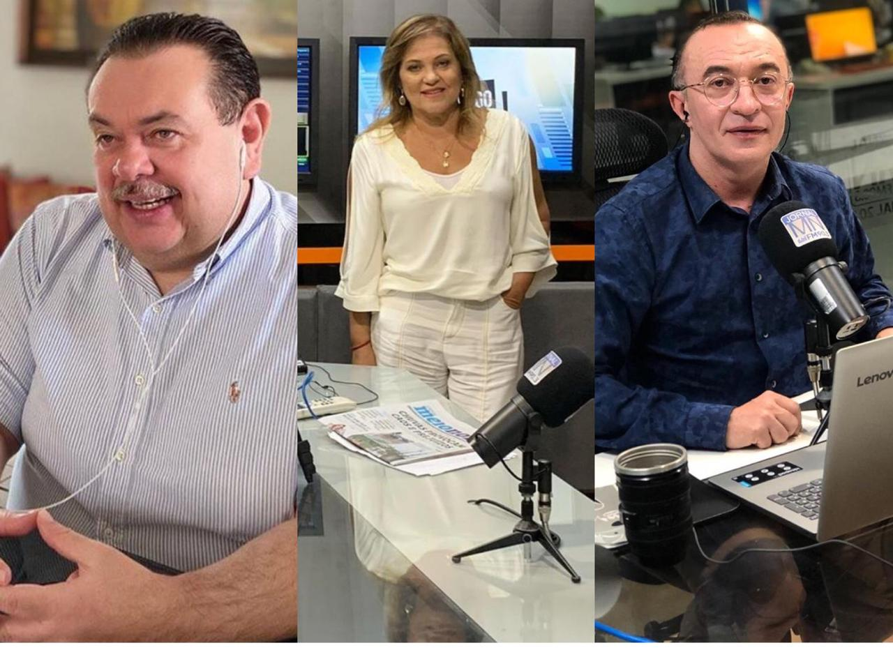 Silas Freire, Cinthia Lages e Ari Carvalho - Foto: Divulgação