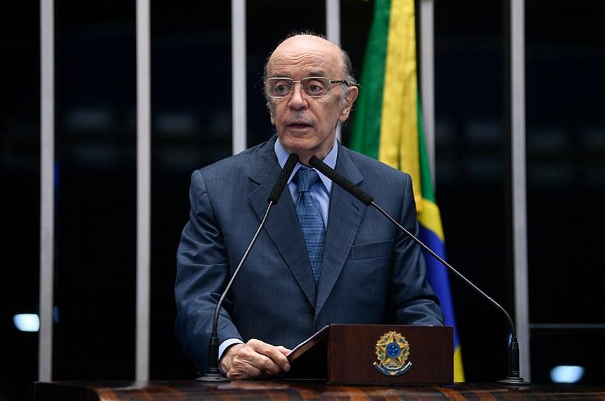 José Serra é denunciado por lavagem de dinheiro - Foto: Agência Senado